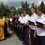 Казаки приняли присягу в Покровском храме