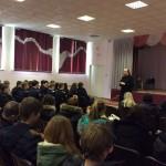 Священник провел беседу с учениками школы №43 города Саратова