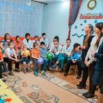 Воспитанники воскресных школ Всехсвятского благочиния посетили Областной реабилитационный центр для детей-инвалидов и детей с ограниченными возможностями