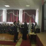 Священник преподал пастырское благословение новому казачьему атаману саратовской школы