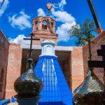 Установлены купола на строящийся в Саратове храм в честь Вознесения Господня