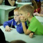 В храме Всех святых, в земле Российской просиявших Всехсвятского благочиния были проведены детские праздники