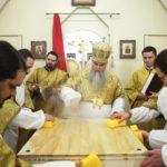 Митрополит Лонгин совершил Великое освящение храма на Новоастраханском шоссе Саратова