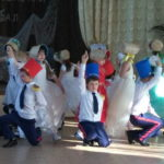 В школе поселка Красный Текстильщик состоялся Сретенский бал