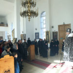 Литургия Преждеосвященных Даров в храме в честь Казанской иконы Божией Матери г.Саратова