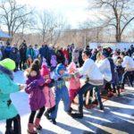 Прихожане храма святого Космы Саратовского устроили для детей зимний праздник: фоторепортаж