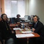 Священник выступил на радио Саратовского нефтеперерабатывающего завода