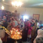 Престольный праздник в храме Вознесения Господня