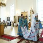 Всенощное бдение в храме в честь Казанской иконы Божией Матери г.Саратова