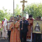 Престольный праздник в храме Царственных Страстотерпцев города Саратова