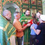Престольный праздник в храме во имя преподобного Сергия Радонежского п. Сергиевский