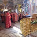 Духовенство и миряне Всехсвятского благочиния помолились перед ковчегом с мощами новомучеников и исповедников Церкви Русской