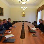 Клирик Всехсвятского благочиния принял участие в рабочей встрече с сотрудниками УФСИН