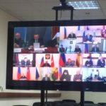 Благочинный Всехсвятского округа принял участие в видеоконференции по вопросам взаимодействия с казачеством