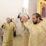В Борисоглебском храме города Саратова совершена первая Божественная Литургия