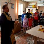 Молебен в детском реабилитационном центре «Возвращение»