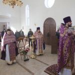 Новый храм на Увекском кладбище отметил первый престольный праздник