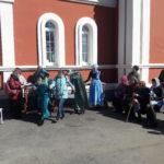Учащиеся интерната стали гостями храма святых Царственных Страстотерпцев г. Саратова
