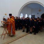 Встреча с учащимися казачьих классов 43 школы города Саратова