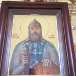 В Казанском храме состоялось освящение иконы святого Ильи Муромца — покровителя казачества
