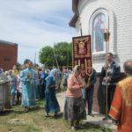 В храме Владимирской иконы Божьей Матери села Багаевка отметили престольный праздник