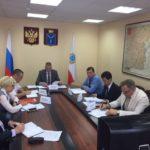 Священник принял участие в заседании окружной комиссии по делам казачества