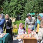 Во Всехсвятском храме Саратова прошла благотворительная ярмарка