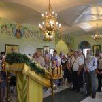 Престольный праздник в поселке Сергиевский Всехсвятского благочиния