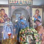 Престольный праздник в храме Владимирской иконы Божьей Матери села Багаевка