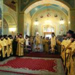 Духовенство и прихожане храмов Всехсвятского благочиния приняли участие во встрече десницы святителя Спиридона