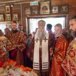 Божественная литургия в храме святой мученицы Софии г. Саратова