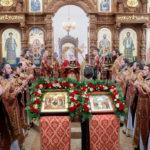 Благочинный Всехсвятского благочиннического округа принял участие в Великом освящении храма во имя Всех Саратовских святых г. Саратова