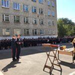 Учащиеся казачьих классов 43 школы почтили память св. Александра Невского