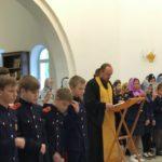 Возобновились еженедельные молебны и беседы для учащихся казачьих классов 43 школы