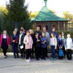 Участники православного кружка 106-й школы совершили экскурсию в храм Святой Софии