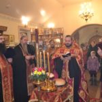В храме Священномученика Космы Саратовского встречают престольный праздник