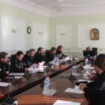 Благочинный Всехсвятского округа принял участие в заседании Епархиального совета