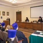 Благочинный Всехсвятского округа принял участие в расширенном заседании Архиерейского совета Саратовской митрополии