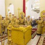 Благочинный Всехсвятского округа принял участие в Великом освящении храма во имя святителя Спиридона Тримифунтского