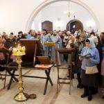 Чудотворную икону Божией Матери «Избавительница от бед» встретили в Борисоглебском храме