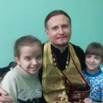 Состоялось причастие детей, находящихся на попечении епархиального общества милосердия