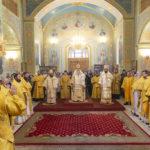 Соборное служение архиереев и духовенства Саратовской митрополии