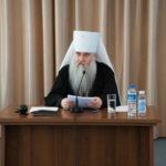 Доклад Митрополита Саратовского и Вольского Лонгина на Епархиальном собрании Саратовской епархии