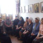День православной книги встретили в храме Усекновения Иоанна Предтечи посёлка Увек